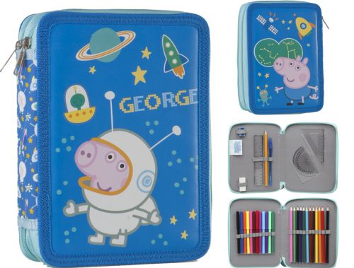PLUMIER DOBLE PEPPA PIG GEORGE