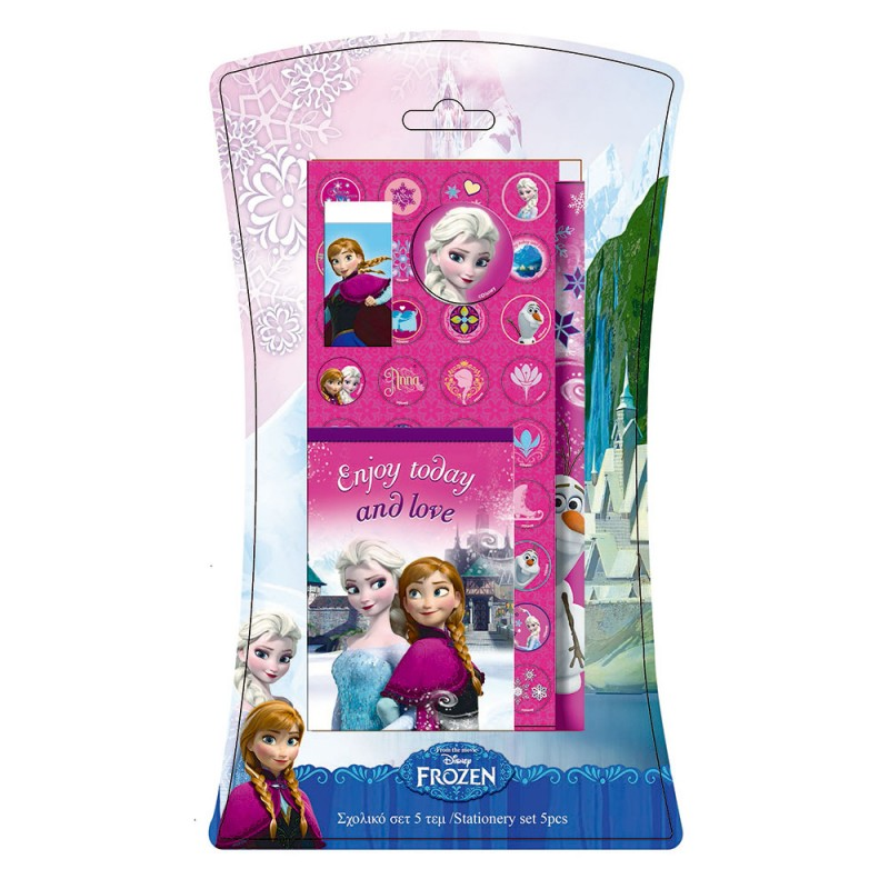 SET PAPELERIA FROZEN DISNEY