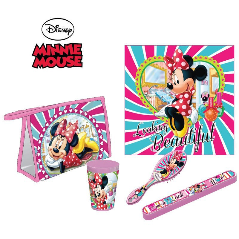 SET COMEDOR ESCOLAR MINNIE DISNEY