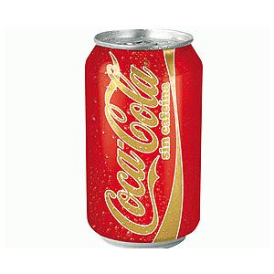 BOTE COCA COLA SIN CAFEINA  330 ML