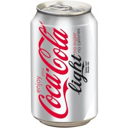BOTE COCA COLA LIGHT 330 ML