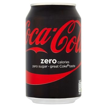 BOTE COCA COLA ZERO  330 ML