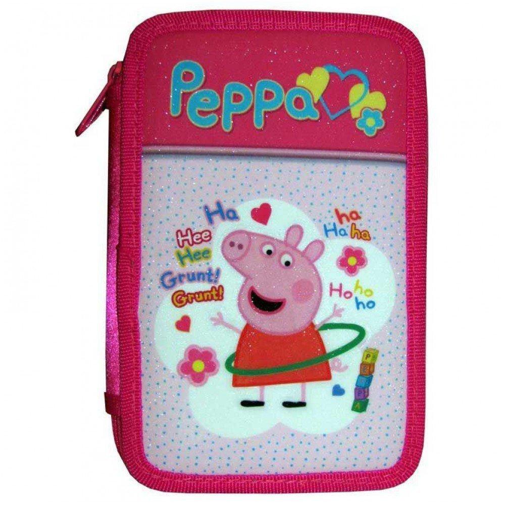 PLUMIER DE TRES PISOS PEPPA PIG