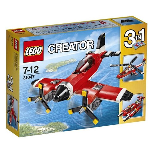 AVION/HELICOPTERO/LANCHA 3 EN 1 DE LEGO