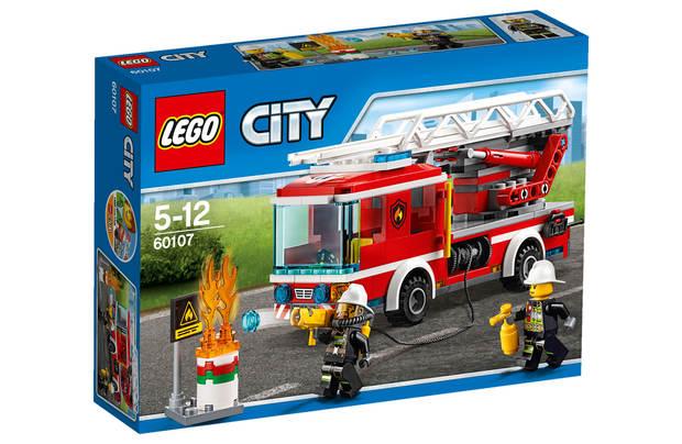 CAMION BOMBEROS ESCALERA LEGO CITY