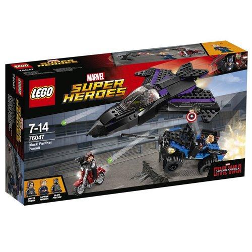LEGO Super Heroes - A la caza de Pantera Negra