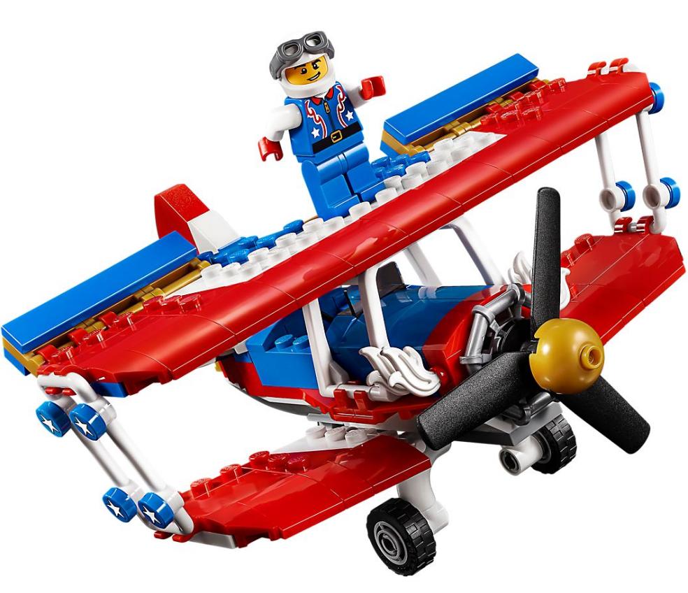 AUDAZ AVION ACROBATICO LEGO