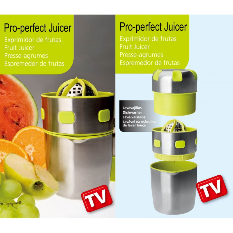 EXPRIMIDOR MANUAL PRO-PERFECT JUICER