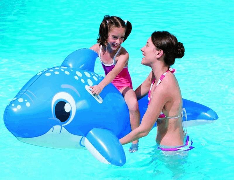 Flotador hinchable Delfín 157x89 cm