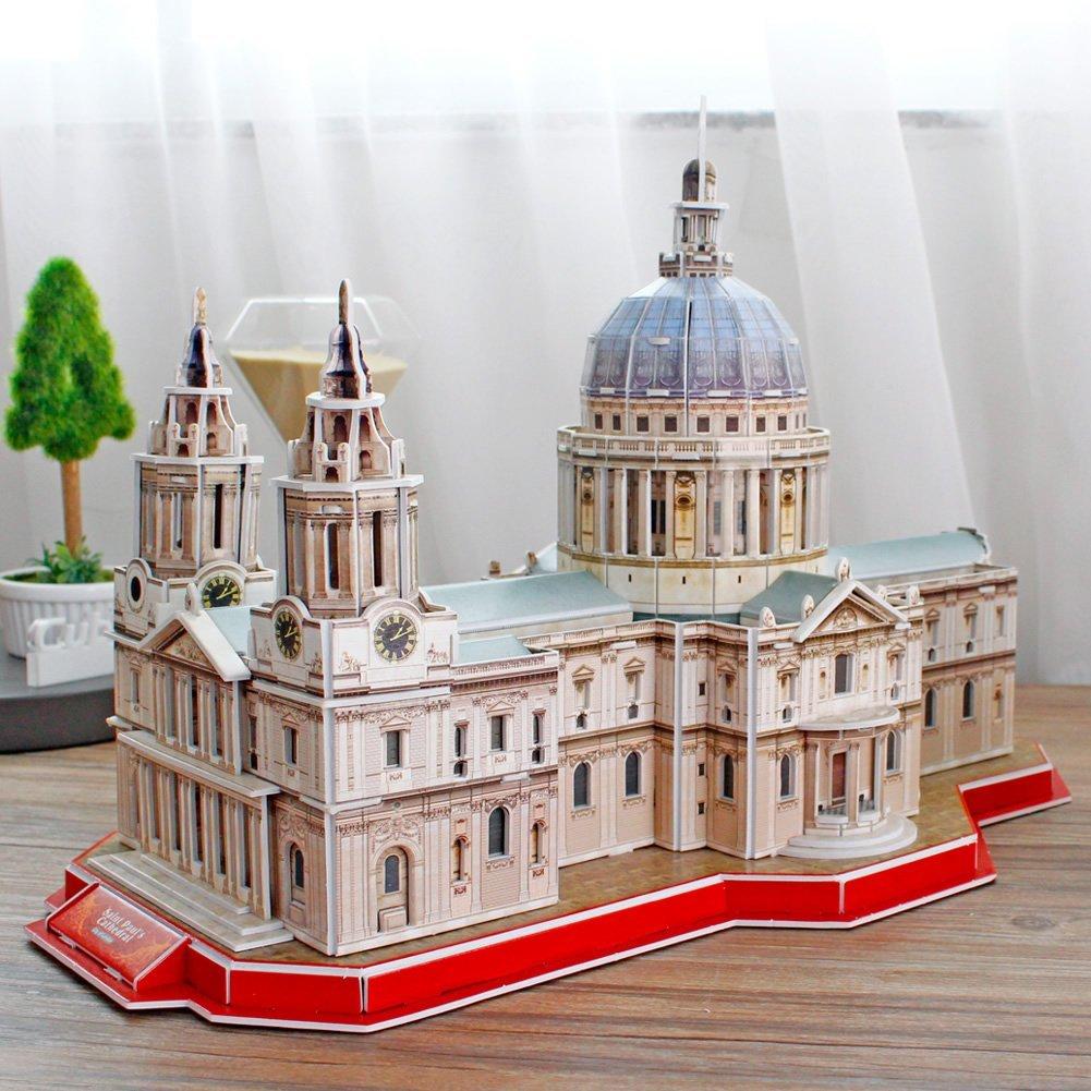 3D PUZZLE CATEDRAL DE SAN PABLO