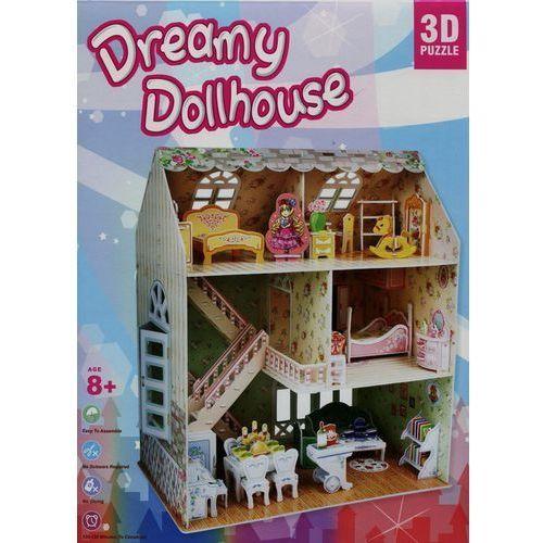 Puzzle 3D Casa de Muñecas Dreamy Dollhouse 160 piezas