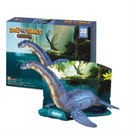 CubicFun 3D Era Dinosaurio Plesiosaurus puzzle