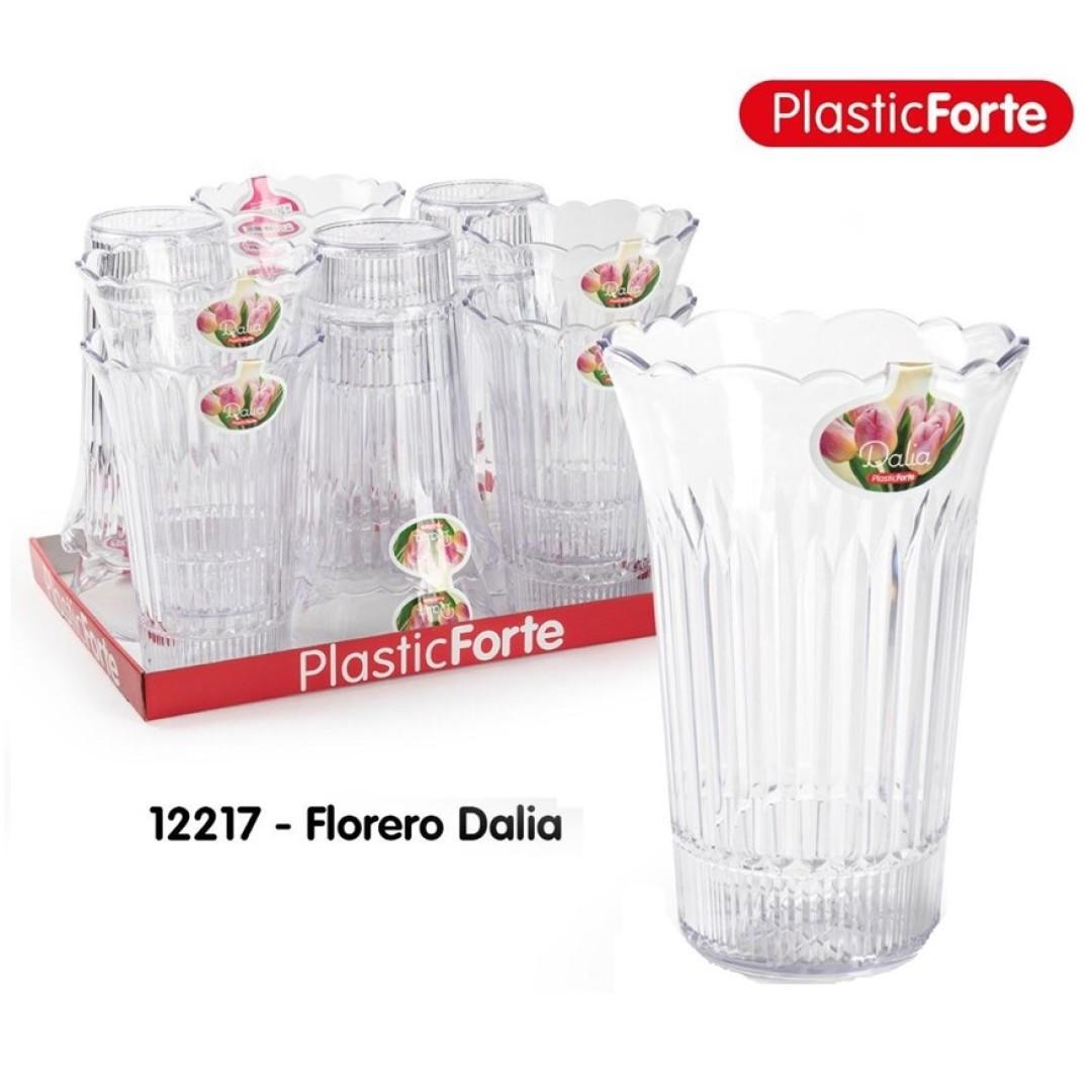 FLORERO DALIA PLASTICO