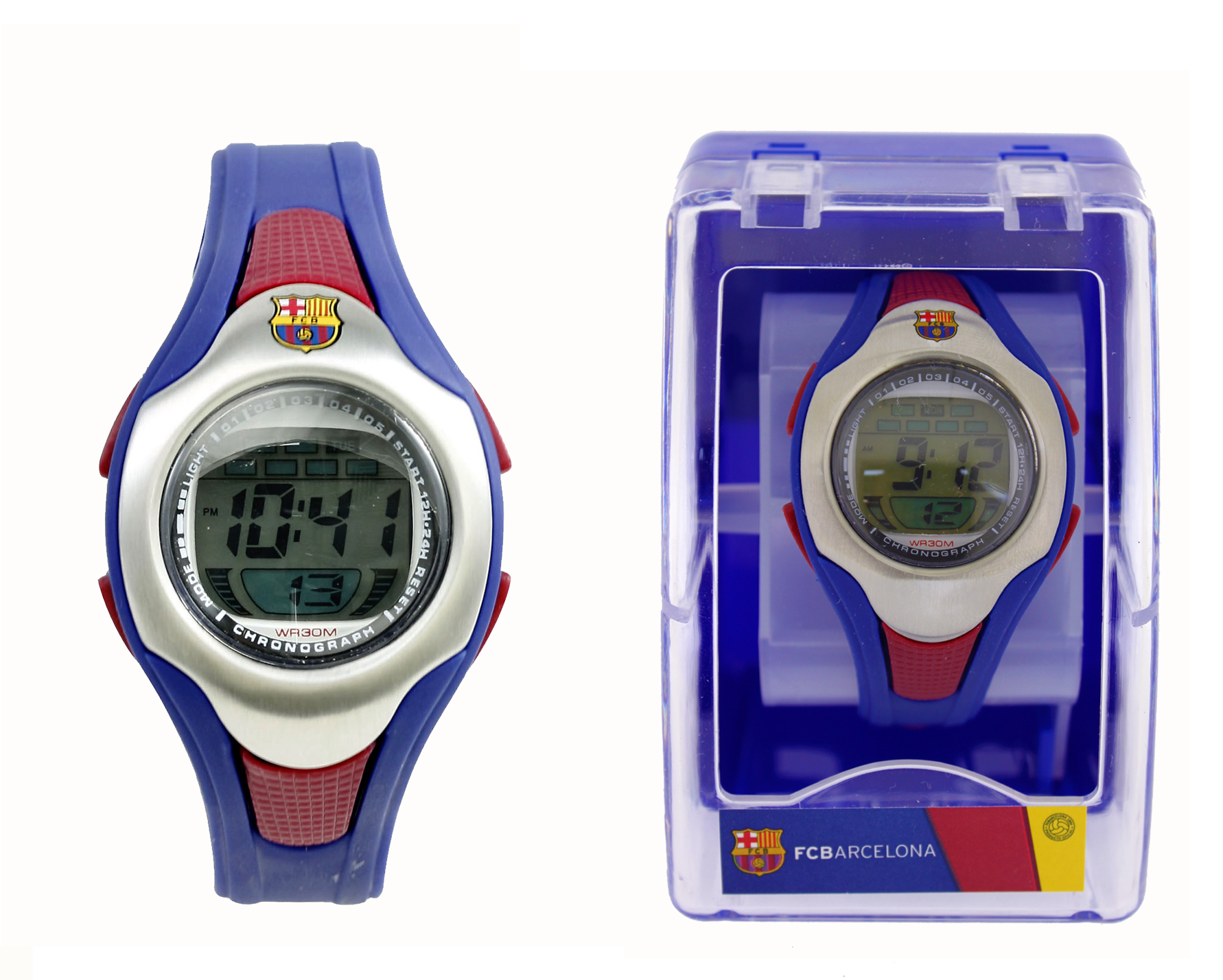 Reloj pulsera digital cadete Futbol Club Barcelona*