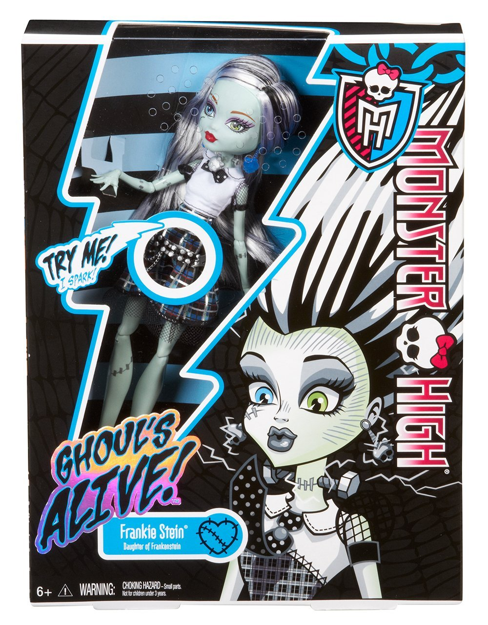 **OFERTA** Monster High - Frankie Stein (Mattel Y0424)