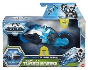 **BLACK FRIDAY** MAX STEEL TURBO MOTO