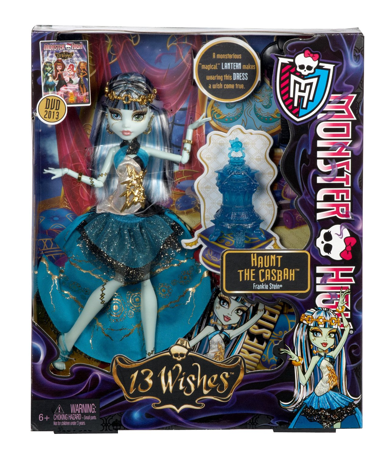 Monster High - 13 deseos: muñeca Frankie