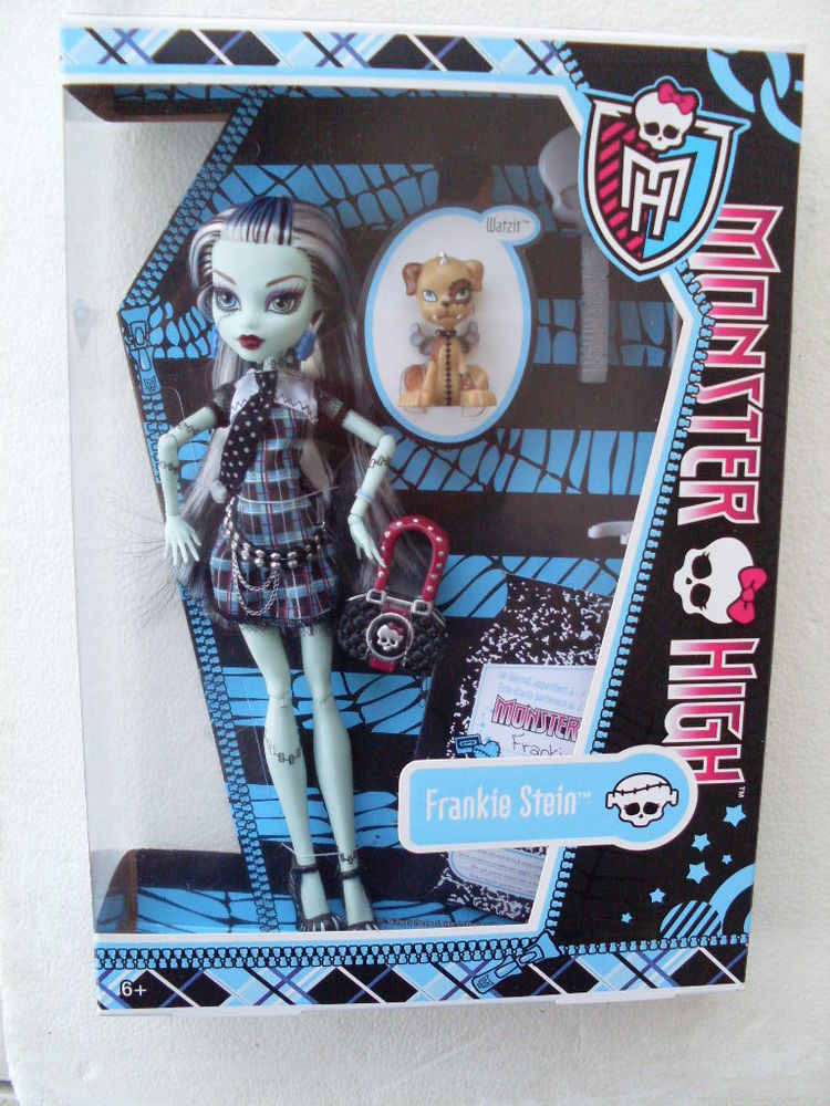 MUÑECA MONSTER HIGH FRANKIE STEIN