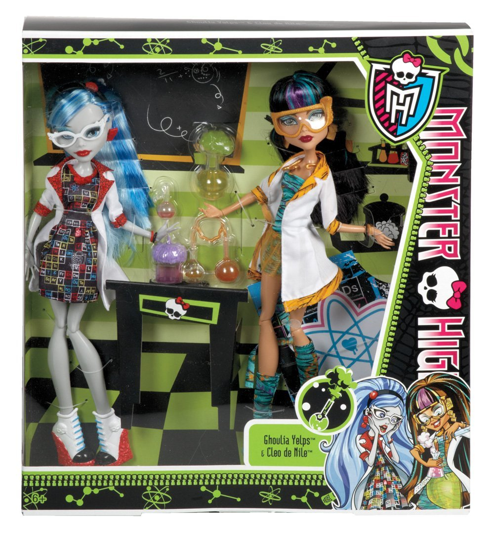 Monster High - Pareja Monstruosa: Mad Science Y Cleo De Nile