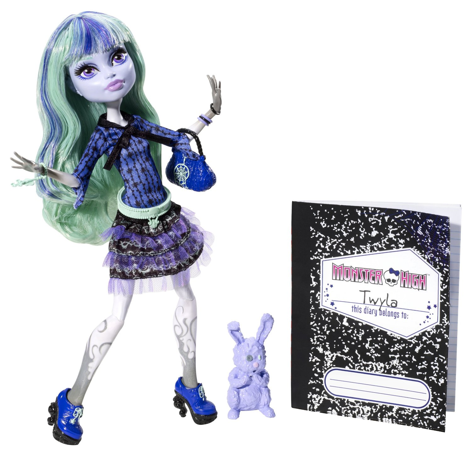 Monster High - 13 deseos: muñeca Twyla (Mattel CCC47)