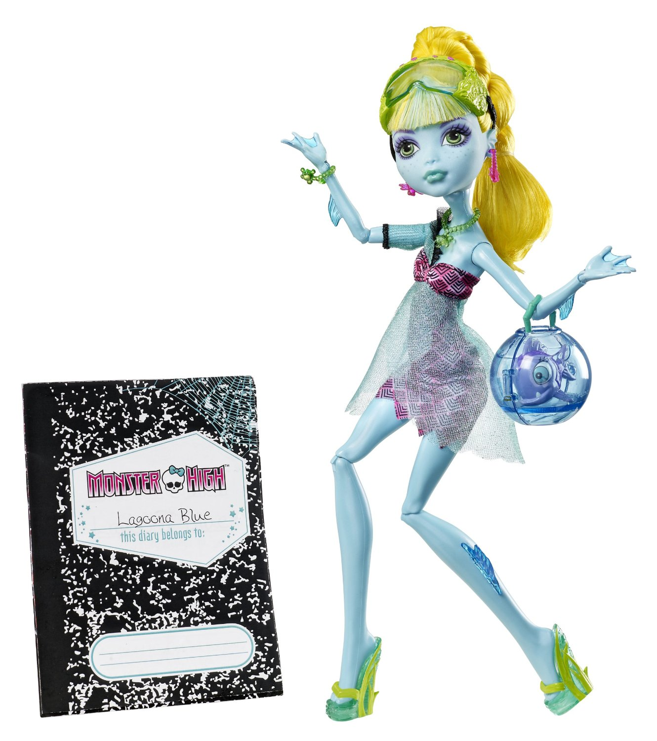 Monster High - 13 deseos: muñeca Lagoona (Mattel CCC49)