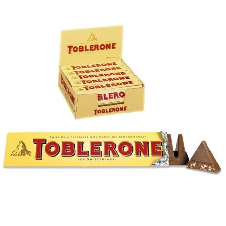 Milk chocolate TOBLERONE, 50 g