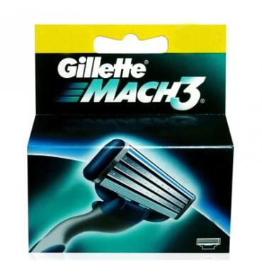 GILLETTE MACH 3 CARGADOR 4 uni