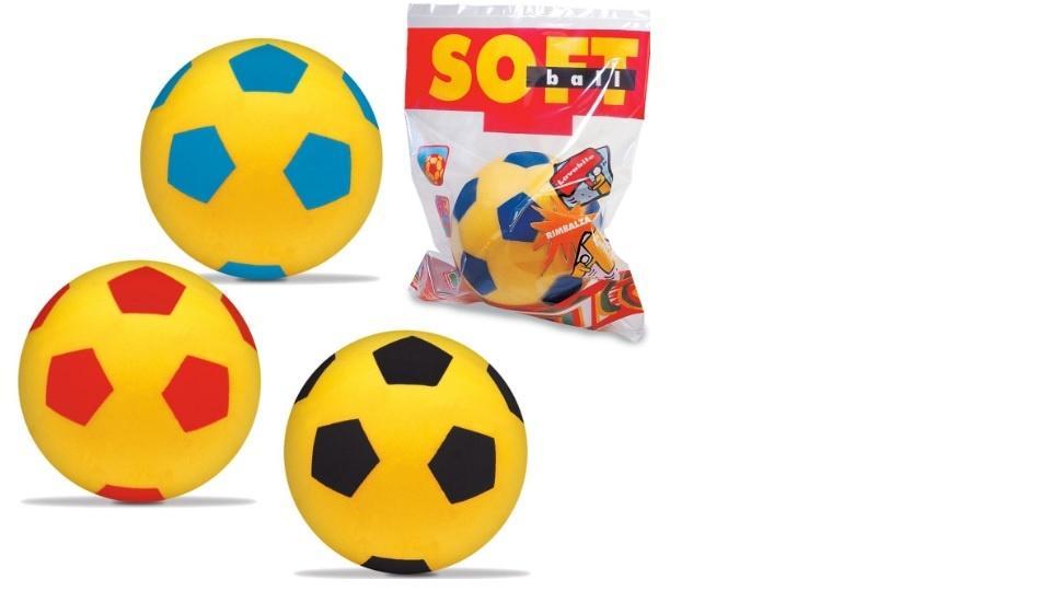 Balón Soft Ball Flúor 140mm Surtido