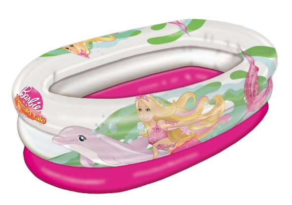 PISCINA HINCHABLE BARBIE 75X45 CM