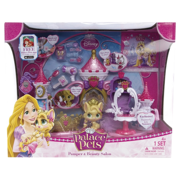 SPA PLAYSET PALACE PETS DISNEY PRIN