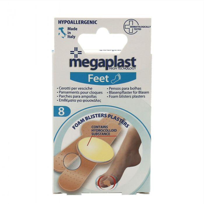 Megaplast Parches para ampollas 8 piezas
