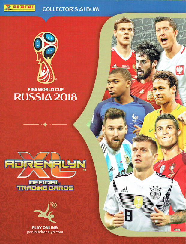 ARCHIVADOR ADRENALYN WORLD CUP RUSSIA 2018