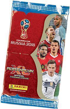 SOBRE CARTAS MUNDIAL RUSIA 2018 ADRENALYN