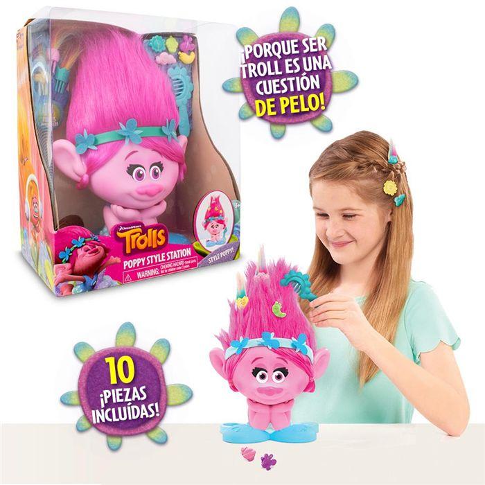 Trolls Poppy Busto con Estilo