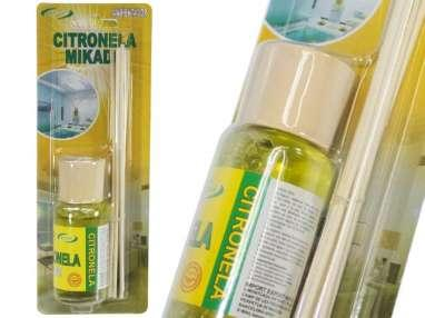 Repelente insectos citronela mikado