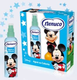 COLONIA MICKEY 175ml Y MUÑECO MICKEY