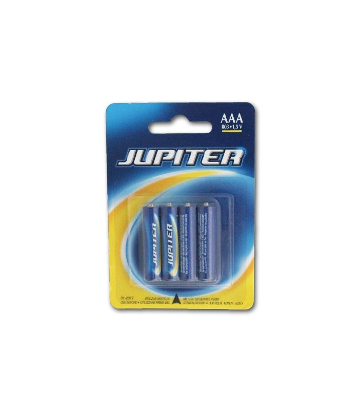 PILAS LR03-AAA JUPITER X4  1.5 V  SALINAS