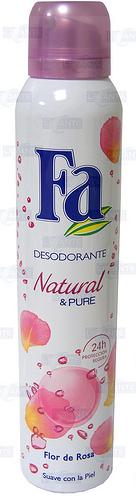 DESODORANTE  FA FLOR DE ROSAS - 200 ml.