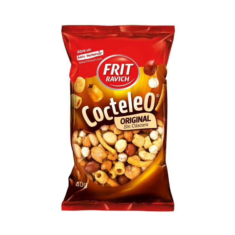 COCTELEO Frutos Secos tostados FRIT RAVICH 180 Gr.