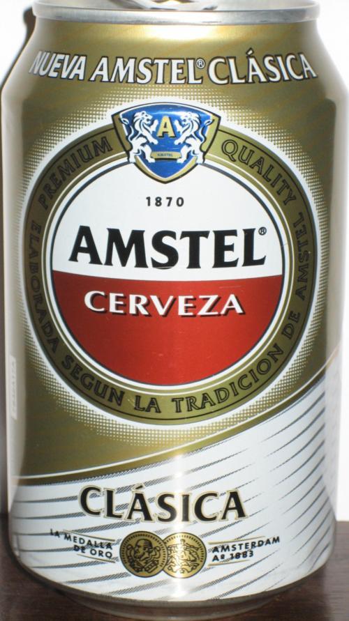 BOTE CERVEZA AMSTEL CLASSICA
