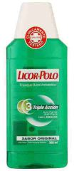 ENJUAGE BUCAL LICOR DEL POLO SABOR ORIGINAL 300ml