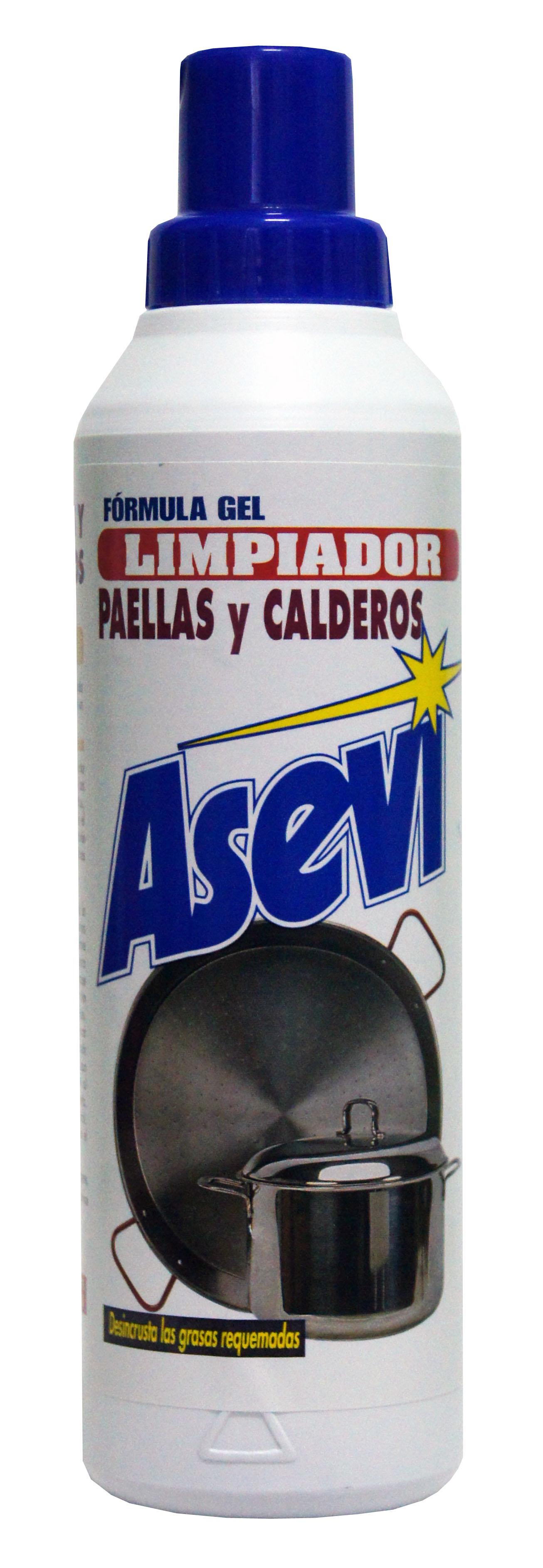 LIMPIADOR PAELLAS Y CALEROS 500 ml.