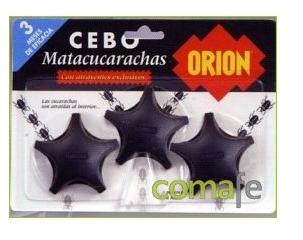 CEBO CUCARACHAS X3