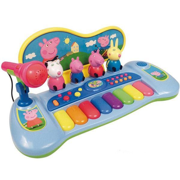 PIANO CON MICROFONO PEPPA PIG