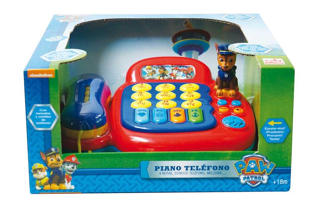PIANO TELEFONO PAW PATROL
