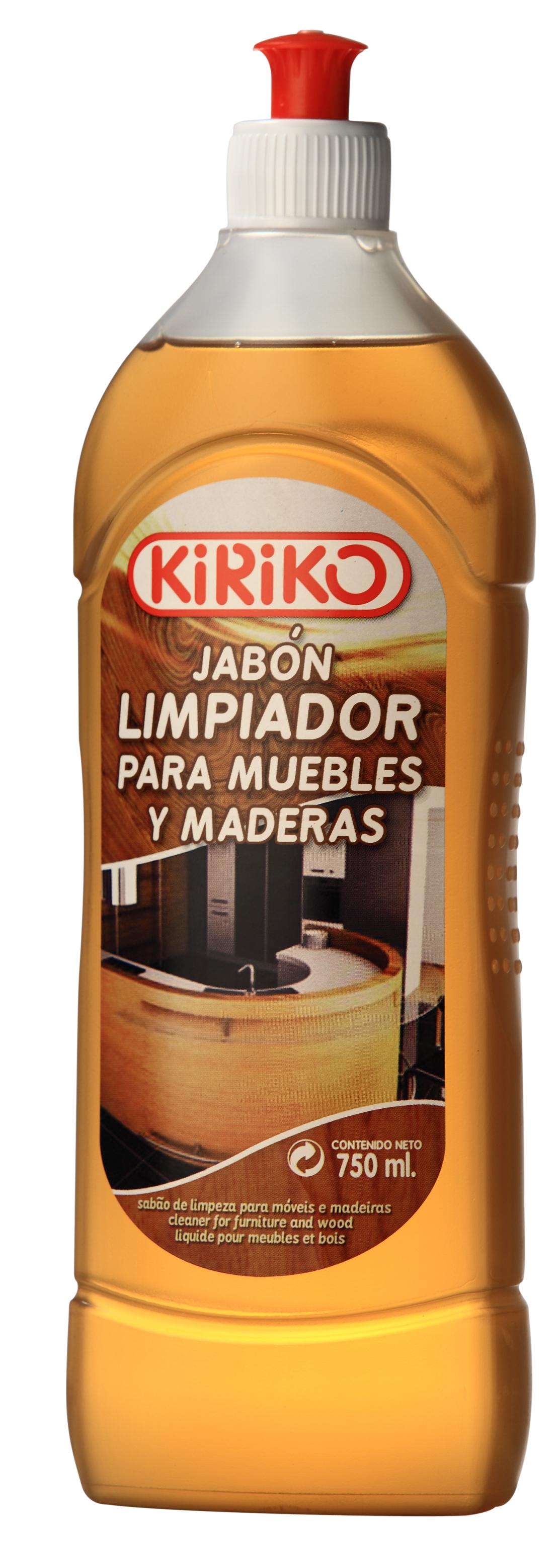 Jabon limpiador para muebles y maderas 750ml for Jabon neutro para limpiar muebles