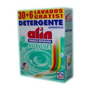 ALIN MALETA 4 Kgrs. DETERGENTE EN POLVO - COLONIA