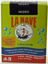 NEGRO Nº 1 LA NAVE LAVACOLOR