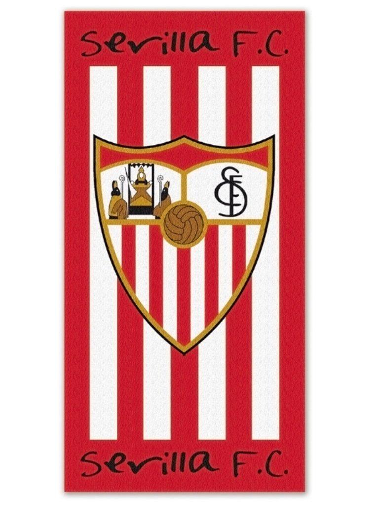TOALLA DE PLAYA DEL SEVILLA CLUB DE FUTBOL