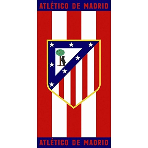 TOALLA DE PLAYA DEL CLUB ATLÉTICO DE MADRID